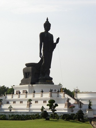 A royal palace buddha statue.