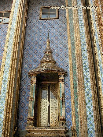 A door at the Royal Grand Palace in Bangkok.